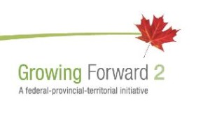 Growing Forward 2- A federal-provincial-territorial initative logo
