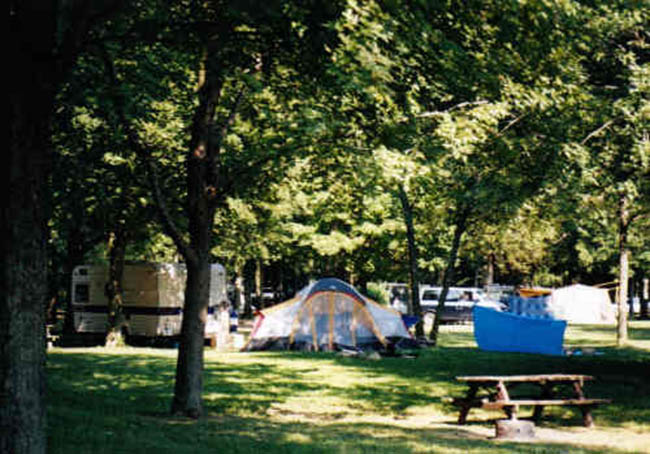Conservation Areas Open for Camping Season