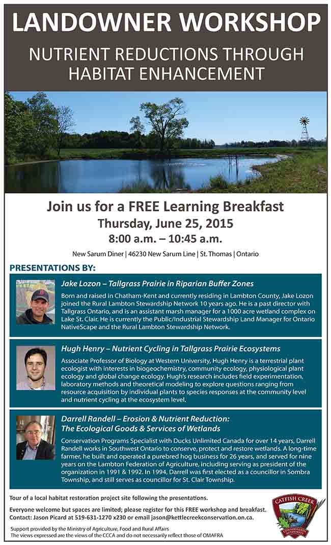 Landowners – Join us for a FREE Learning Breakfast on Nutrient Reduction