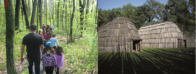 """To Open 7 Days A Week for the Tourist Season!""  Ska-Nah-Doht Village & Museum  At  Longwoods Road Conservation Area"