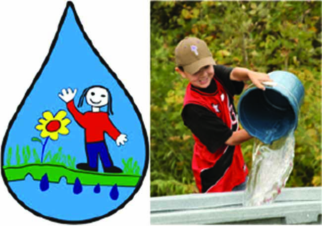 """June 2 is RBC Blue Water Day!"" $5,000 RBC Blue Water Project donation to Local Children's Water Festival"