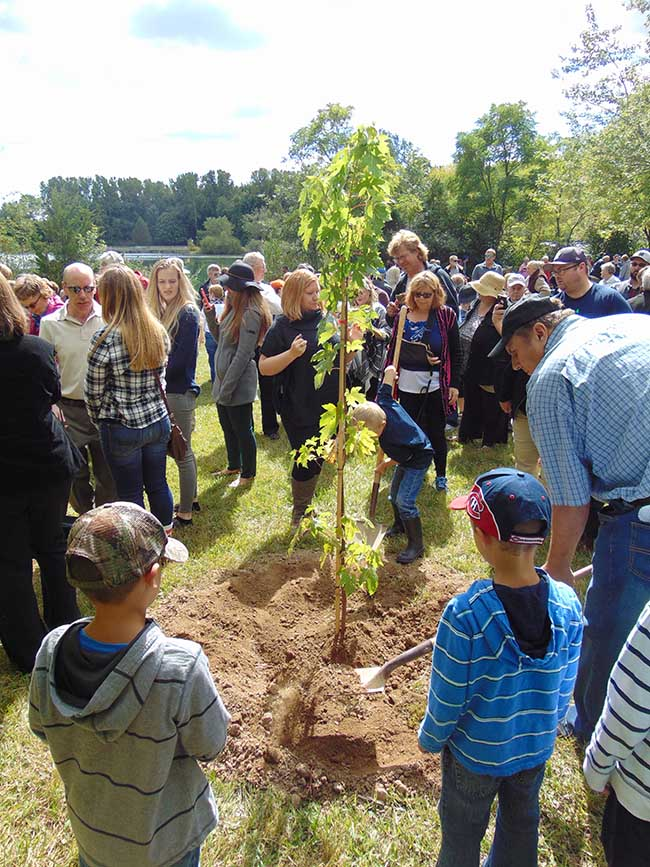 """Fall Memorial Forest Dedication Services to be Held in September"" Remembering Loved Ones Through a Living Tree Memorial"