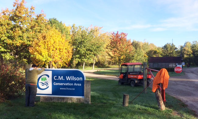Conservation Areas Are Sporting Fresh New Entrance Signs!