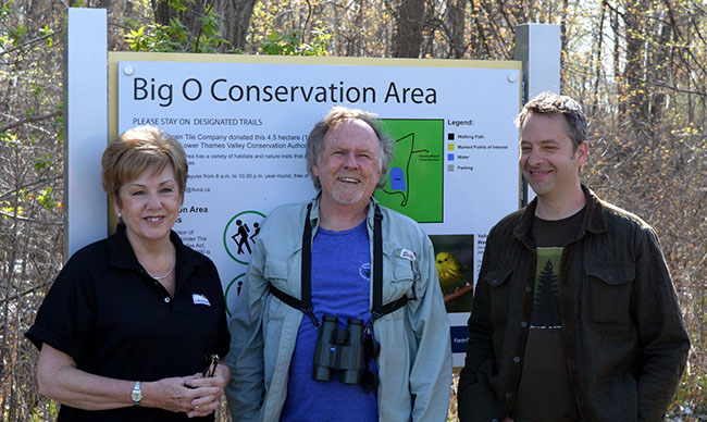 """Experience some of the best birding in SW Ontario!""  ""Step into Nature"" For The Big O Birding ""Healthy Hike"""