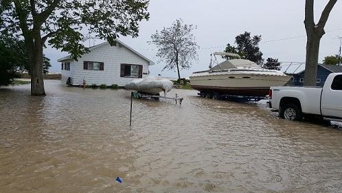 Flood Warning – Lake Erie Shoreline – August 4th, 2017 – 3:30 p.m.