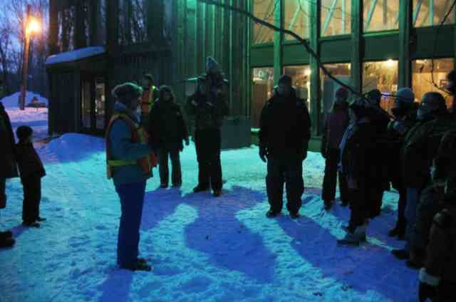 Do You Give a Hoot?  Why not go on a Moonlight Winter Hike?