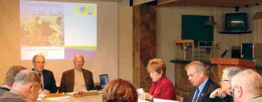 LTVCA Board Around Board Room Table