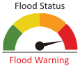 Flood Status - Warning