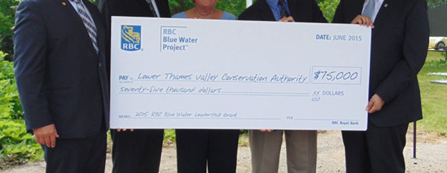 RBC presents big cheque for $75,000 to LTVCA