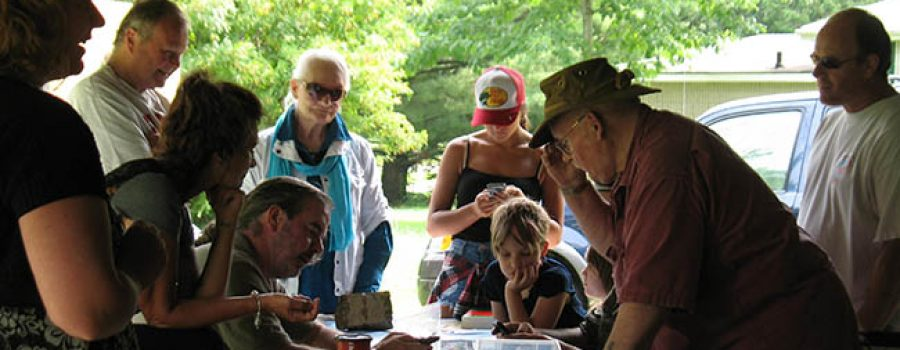 artifacts identified by Ontario Archaeologist Society at Longwoods Road Conservation Area