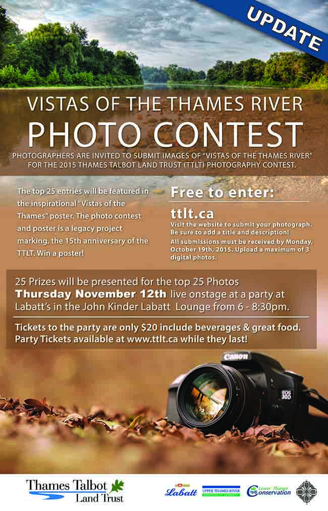 Vistas of the Thames River Photo Contest Update