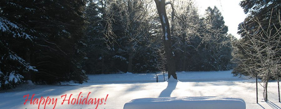 Holiday Greetings from Longwoods