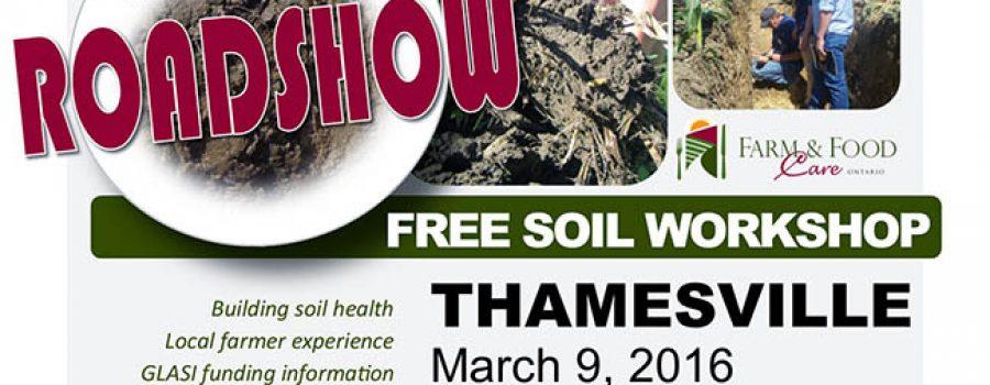 Free Soil Workshop poster