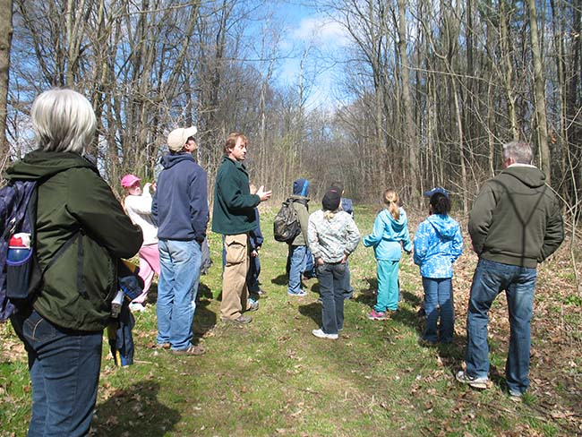 """Guided Hikes and Tours Offered"" Come on out to Longwoods this March Break!"