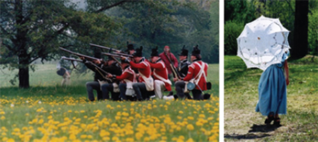 "Longwoods Heritage Weekend April 30-May 1 – ""Listen, Watch, Taste, Smell –    Experience Life of 1812!"""