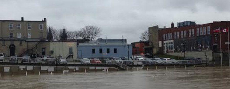 flooding on Thames River