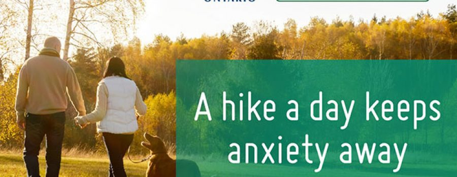 Healthy Hikes poster