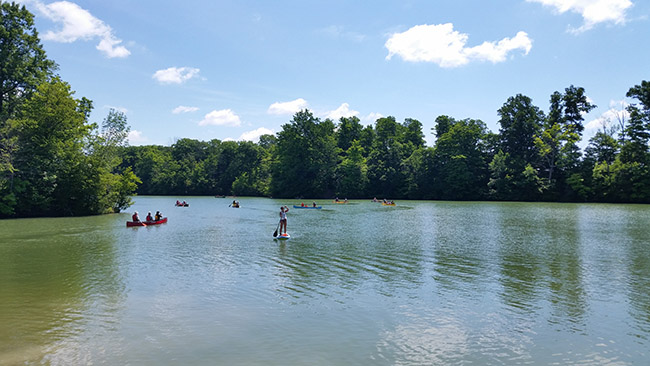 London Canoe Club Paddle Days at Sharon Creek Conservation Area