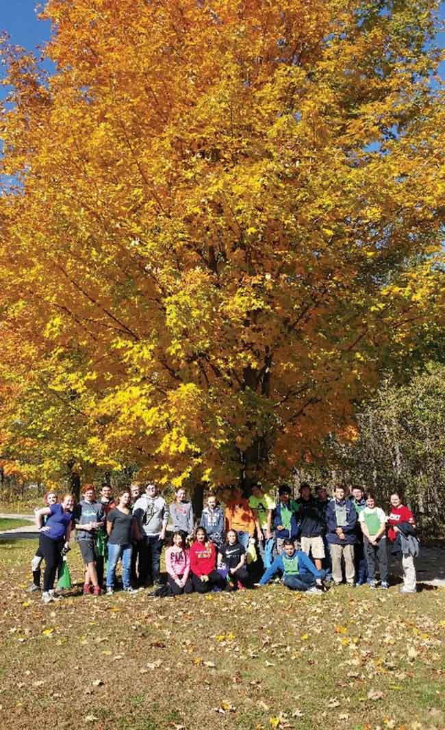 """Book your class trip – fall experiential learning activities"" Outdoor Ed Programs at Longwoods Road Conservation Area and Ska-Nah-Doht Village!"