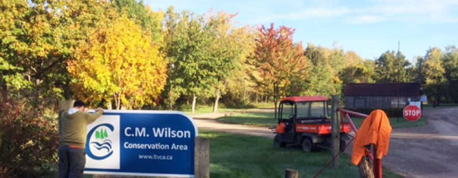 new conservation area signage