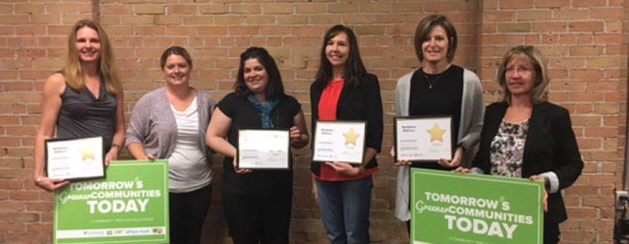 receiving the Workplace Wellness Award