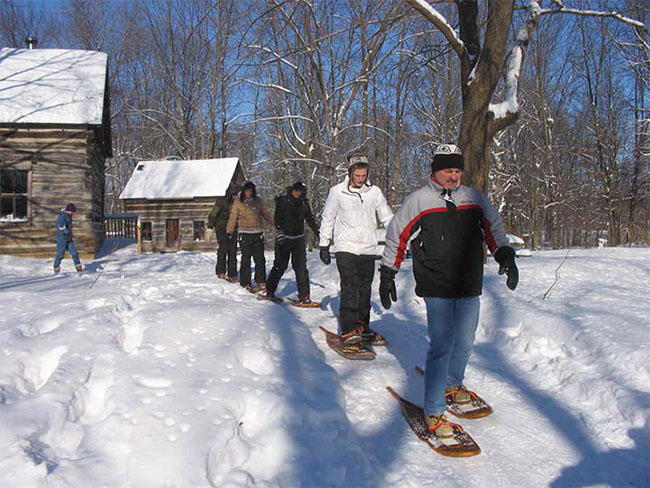 Longwoods Offers 'Snowshoe Sundays'  – Afternoons in January and February