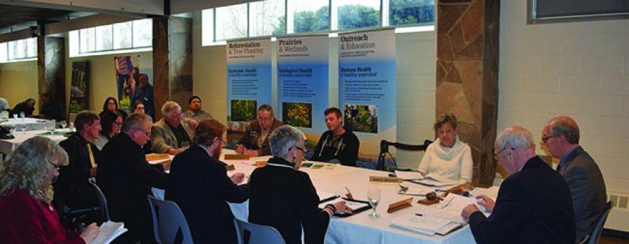 Feb 17 2017 LTVCA AGM Directors at table