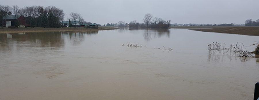 McGregor Creek Flooding March 31, 2017
