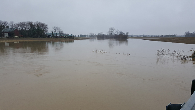 Watershed Conditions – Flood Outlook – Local Watercourses – Jan 24, 2020 – 9:30 AM