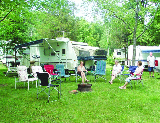 """Plan a 'Camping Get-Away' in Lower Thames Valley Country!""  Conservation Areas Open Mid-May for Camping Season"