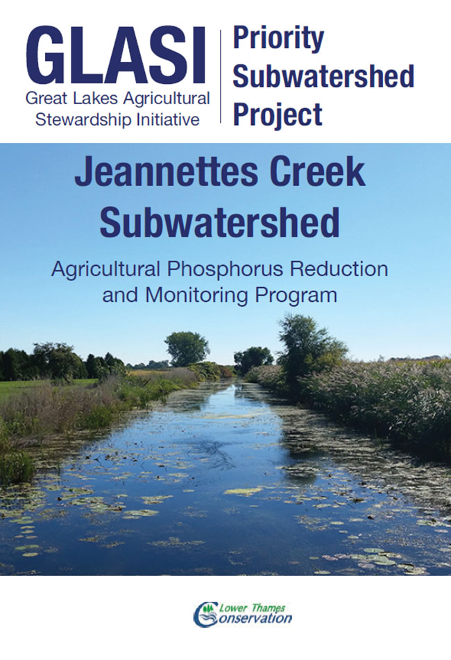 Jeanettes Creek Priority Subwatershed Project cover off booklet