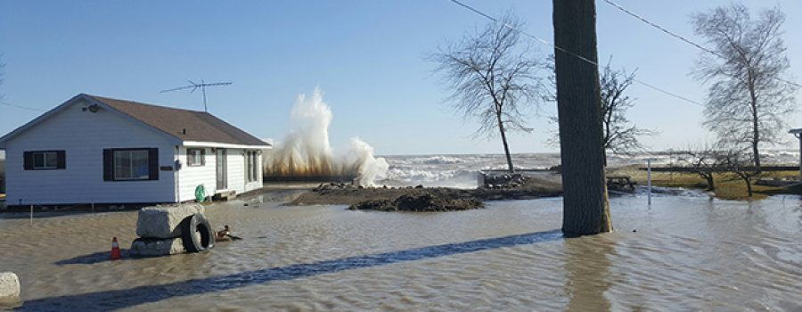 shoreline flooding