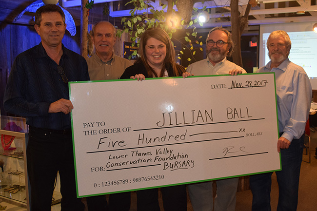 Jillian Ball Receives Foundation Bursary!