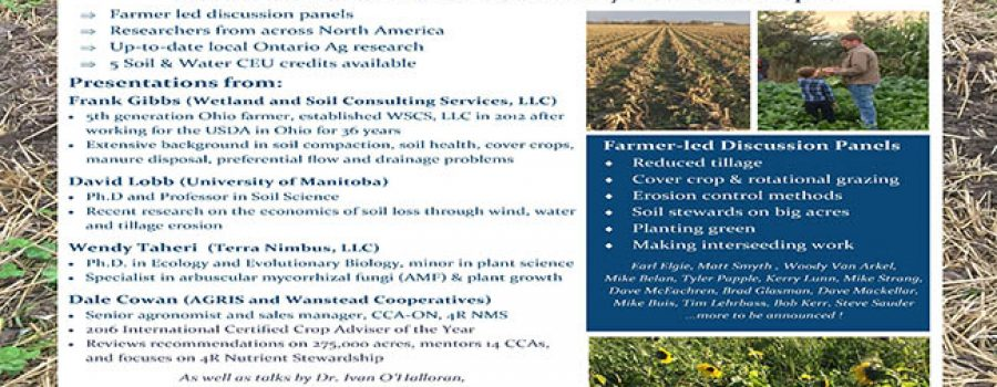 Soil Health Conference Poster