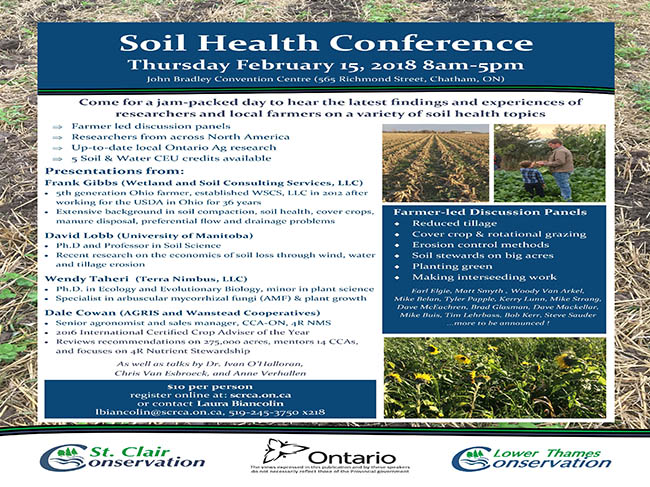 Soil Health Conference February 15