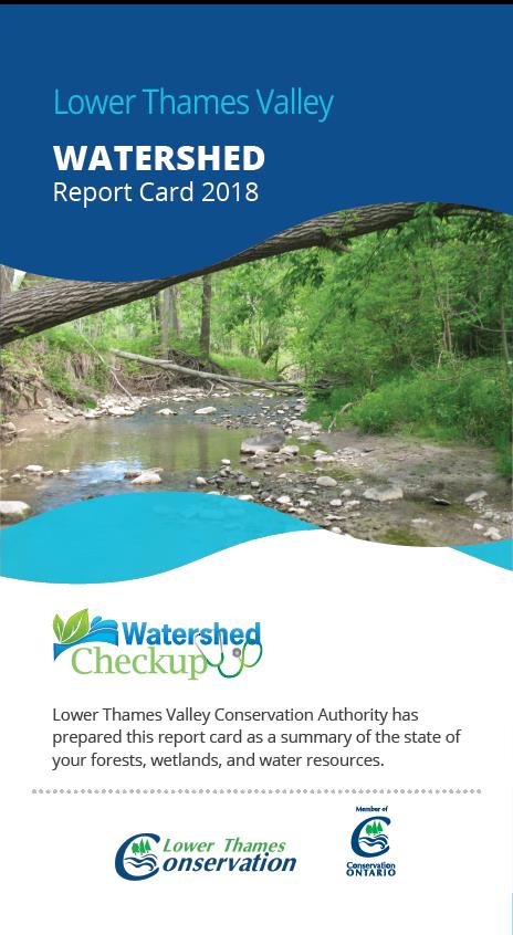 2018 LTV Watershed Report Card cover