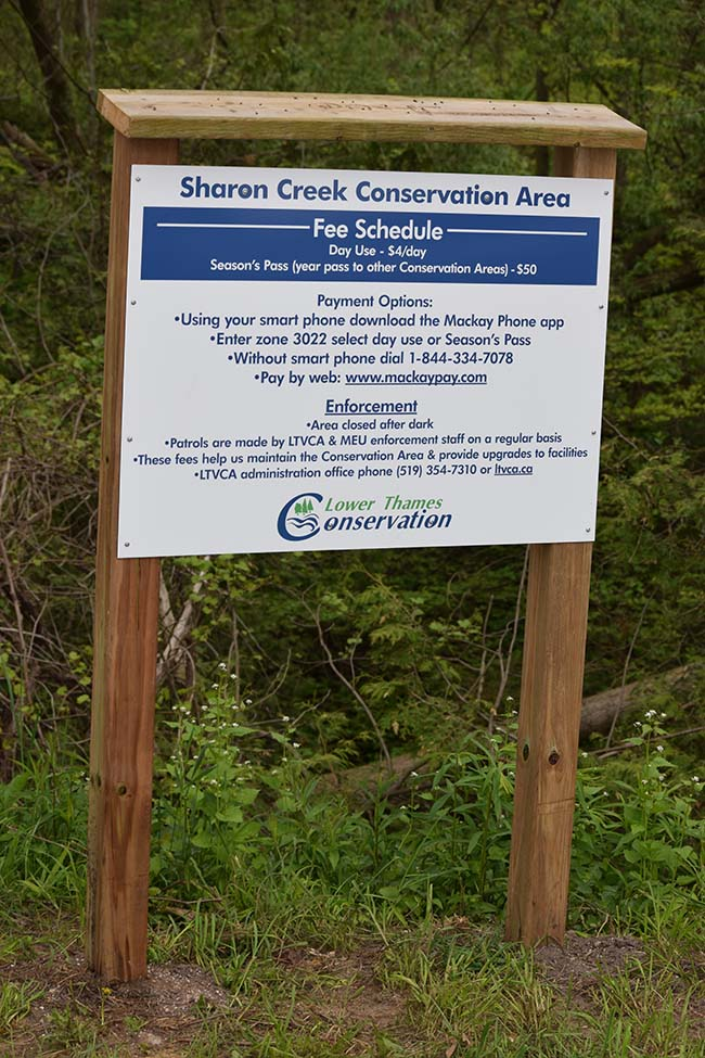 Conservation Authority Introduces New Smart Phone Payment Method:  LTVCA Using Mackay Pay Phone App at Sharon Creek and  Big Bend Conservation Areas