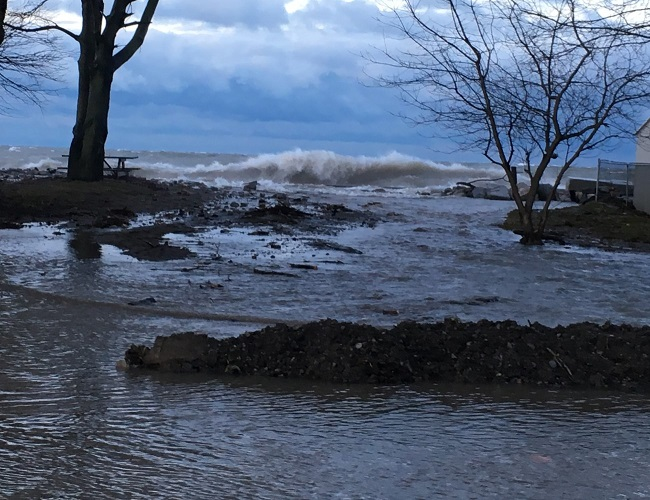 Watershed Conditions – Safety Bulletin – Lake Erie Shoreline – February 7, 2019 – 7:30 p.m.