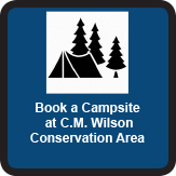 Book a Campsite at C.M. Wilson Conservation Area button