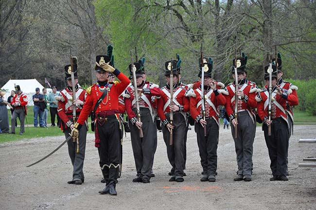 """Listen, Watch, Taste, Smell –   Experience Life of 1812!"" Longwoods Heritage Weekend May 4-5"