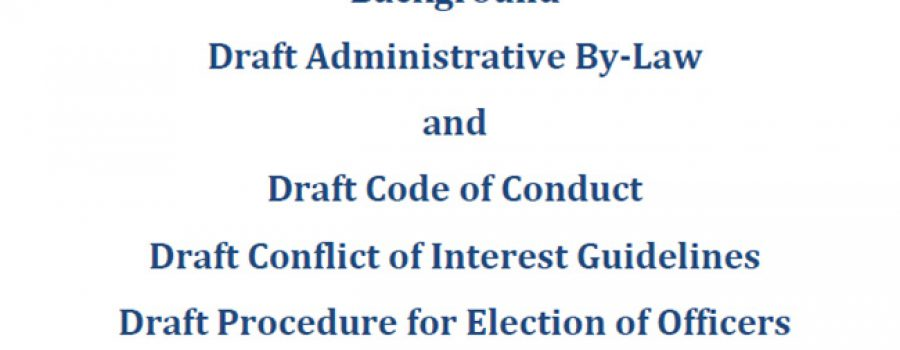 cover from 3rd reading ltvca draft administrative by-law