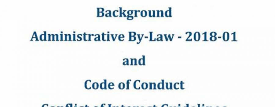 LTVCA Administrative By-Law 2018-01