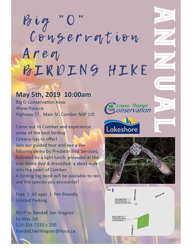 "Annual Big ""O"" Conservation Area Birding Hike"