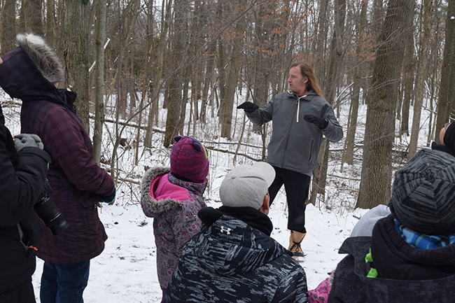 """Guided Hikes Offered"" Come on out to Longwoods this March Break!"