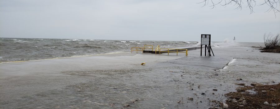 Watershed Conditions – Safety Bulletin – Lake Erie Shoreline – Erie Shore Drive and Rondeau – 9:15 AM – May 23, 2019