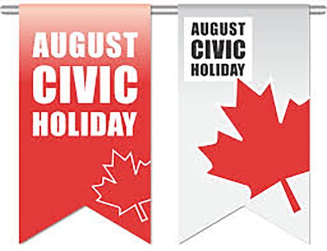 LTVCA Admin Office Closed August 5 Civic Holiday