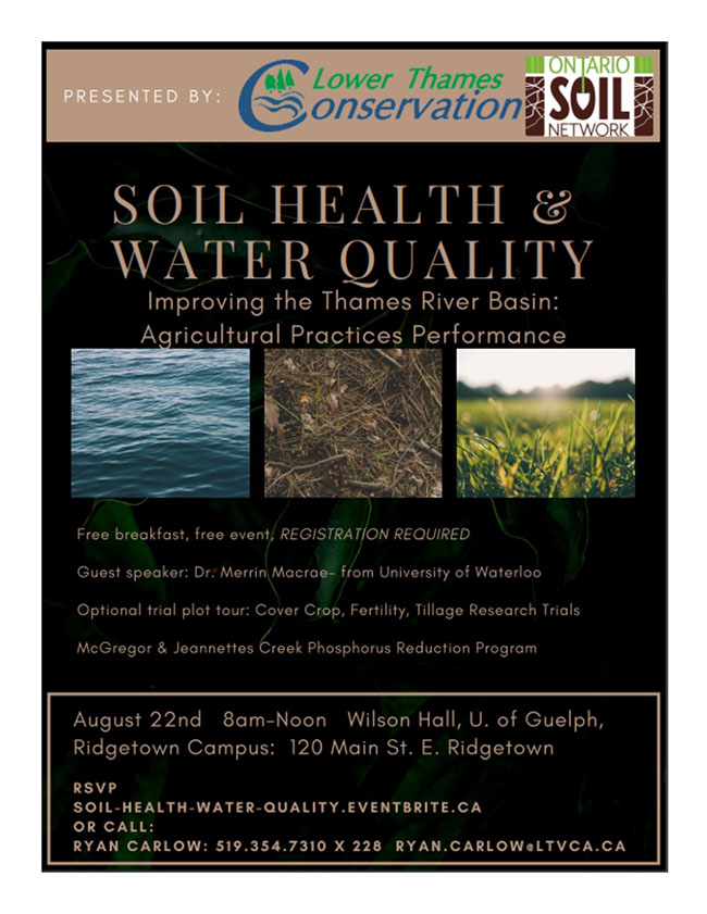 Sign up for Soil Health and Water Quality Workshop!