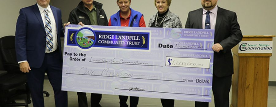 Ridge Landfill Community Trust contributes $1 million to increase tree cover in Chatham-Kent