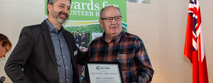 LTVCA Calling for Nominations for its annual 'AWARDS FOR VOLUNTEER HEROES'