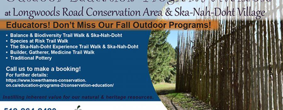 fall school programs offered